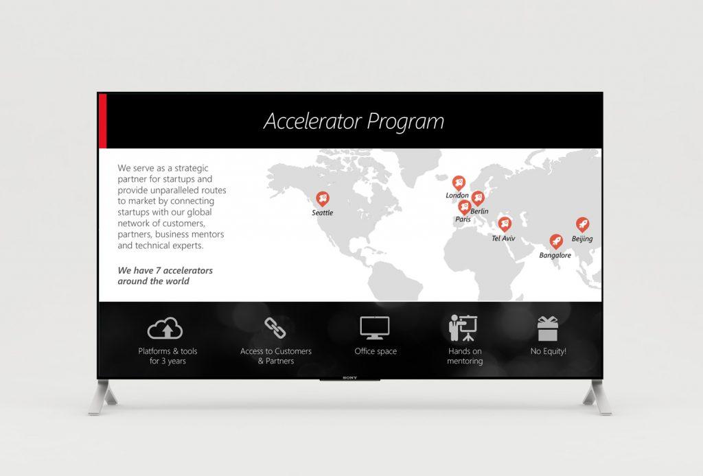 Microsoft Accelerators slides design